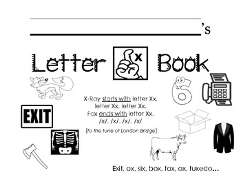 Letter Xx Activity Packet