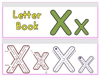 Letter Xx Binder Book