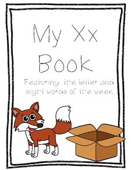 Letter Xx Book