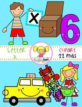 Letter Xx Clipart