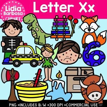 Letter Xx Digital Clipart
