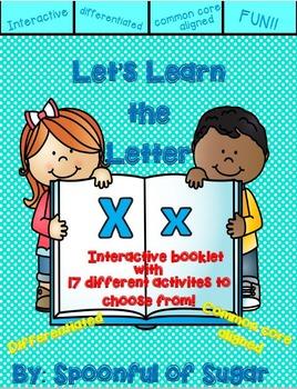 Letter Xx- Interactive Activities Booklets