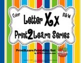 Letter Xx Literacy & Language Activity Center {COMMON CORE