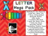 Letter Xx Mega Pack- Kindergarten Alphabet- Handwriting, Little Books, and MORE!