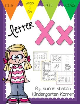 Letter Xx Practice (RTI)