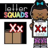 Letter Xx Squad: DAILY Letter of the Week Digital Alphabet