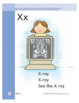 Letter Xx (X-ray)