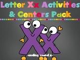 Letter Xx (ending sounds) Activities Pack (CCSS)