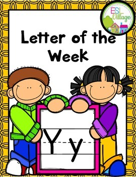 """Letter of the Week (Letter """"Y"""")"""
