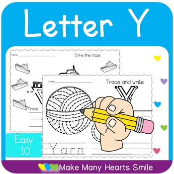 Easy 10: Letter Y