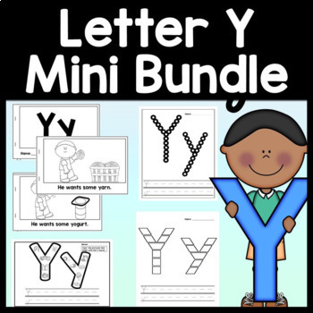 Letter Y Activities {Letter Y Book and 5 Letter Y Worksheets!}