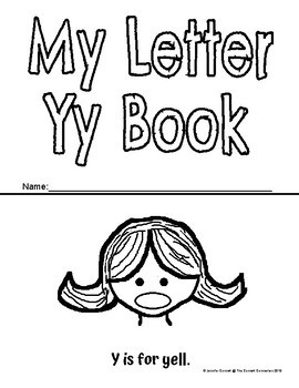 Letter Y Activity and Center Packet
