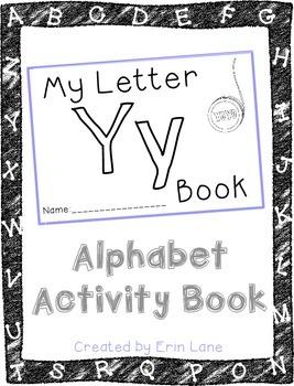 Letter Y: Alphabet Activity Book