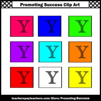 Letter Y, Alphabet Letters Clip Art, Letter Sounds Clipart SPS