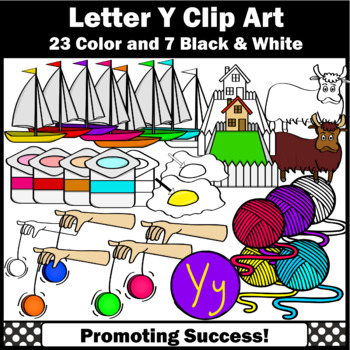 Letter Y Clipart Teaching Resources Teachers Pay Teachers