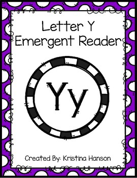 Letter Y Book
