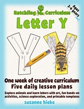 Letter Y Bundle: 1 Week Of Complete Curriculum Lessons