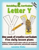 Letter Y: activities to create and explore