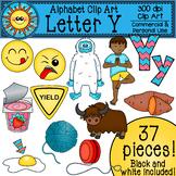 Letter Y Clip Art - Beginning Sounds