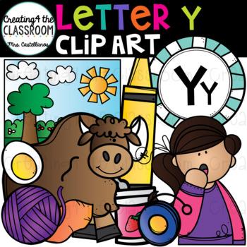 Letter Y Clipart {Alphabet Clip art}