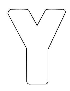 Letter Y Craft
