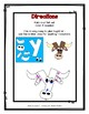 Letter Y Craftivity - Yak - Zoo Phonics Inspired - Color & BW Versions