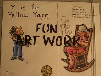 Letter Y Fun Alphabet Project