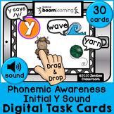 Letter Y Initial Sound Digital BOOM Cards
