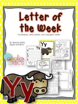 Letter Y {Letter of the Week}