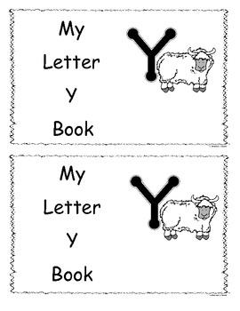 Letter Y Little Reader/Book