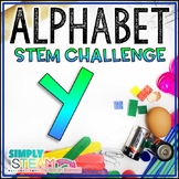 Letter Y STEM Challenge | Letter Y Activities