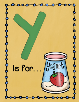 Letter Y Story and Writing Practice