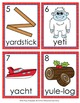 Letter Y Words Write the Room Activity