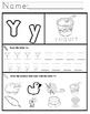 Letter Y Worksheets!