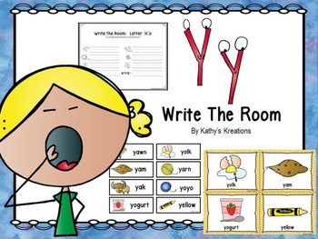 Letter Y Write The Room