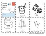 Letter Yy- A Week of Pre-K Practice Activities