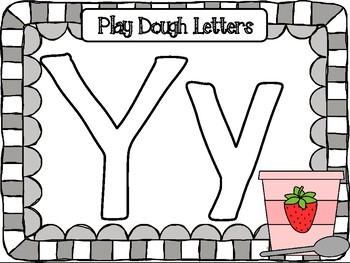 Letter Yy Activities Pack (CCSS)