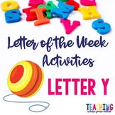 Letter Yy Activity Pack
