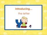 Letter Yy - Alphabet Lesson – Power Point – Interactive – Teaching the Letter Y