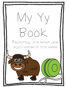 Letter Yy Book