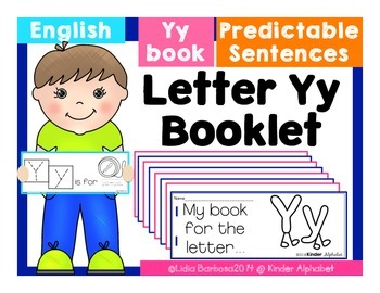 Letter Yy Booklet- Predictable Sentences