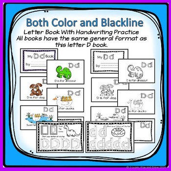 Letter Yy Letter Book and HWOT Practice - Learning Letters and Phonics