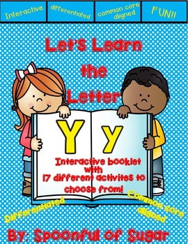 Letter Yy- Interactive Activities Booklet