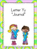 Letter Yy Journal