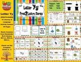 Letter Yy Language & Literacy Activity Center {COMMON CORE ALIGNED}