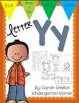 Letter Yy Practice (RTI)