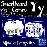 Letter Yy Smartboard Games (5 mini games) (Smartboard/Promethean Board)