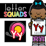 Letter Yy Squad: DAILY Letter of the Week Digital Alphabet
