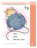 Letter Yy (Yarn)