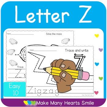 Easy 10: Letter Z